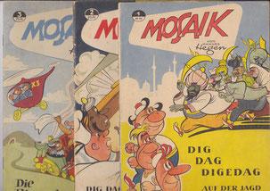 Mosaik Digedags Hefte Sammler aus Cottbus wipa