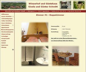 Winzerhof & Gästehaus Schmitt ***