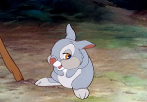"Thumper in ""Bambi"" (1942)"