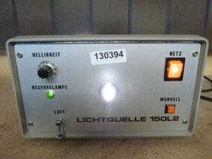 Kobi Medizintechnik Lichtquelle Kaltlichquelle 150L2 medizinischer Bedarf für Krankenhaus und Praxis