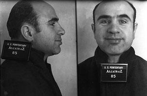Foto segnaletica di Al Capone