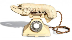 Телефон-омар Сальвадора Дали