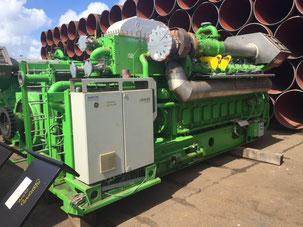 Landed Generator Set Gas Jenbacher - Lamy Power special deal