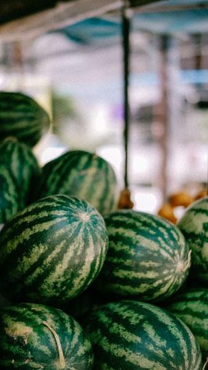 Foodblog   Lowcarb   BBQ   Beilagen vom Grill   Wassermelone
