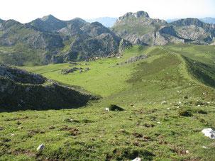 Imagen de la Vega de Belbín, en los Picos de Europa. © Universidad de Oviedo