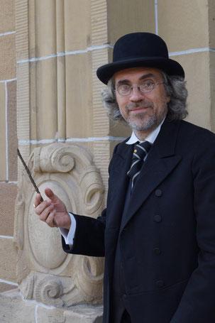 Olaf Schulze in der Rolle des Steckeles-Kaysers (Foto: Linda Luickhardt/WSP)