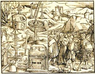 Constitutio Criminalis Carolina 1533. Innenseiten