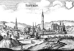 In Idstein residierte bis ins Jahr 1721 eine Linie des Hauses Nassau.