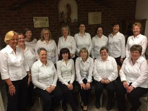 Gruppenbild unserer Damen