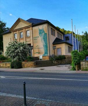 Nationalparkzentrum, Bad Schandau, Ausstellung, Shop ,Wanderkarten, Postkarten, Wanderwege