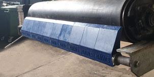 Conveyor belt sraper, conveyor belt cleaner