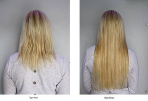 Haarverlangerung http://www.bodyandsoulcosmetics.de
