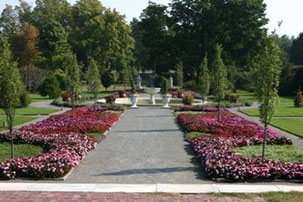 The Italianate Garden At Elm Bank Is Most Grand