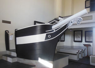 The Seammen's Bethel Pulpit is Featured in 'Moby Dick'