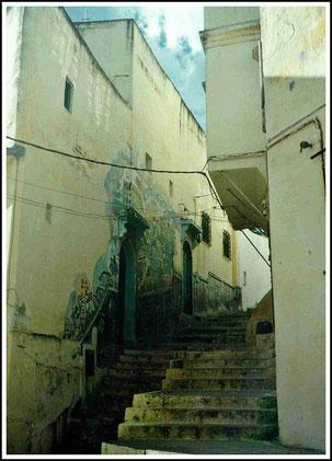 In der Medina Tangers kann man sich rettungslos verlaufen.
