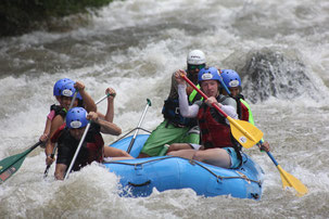 Arenal Combo Tour:  Rafting & Canyoning