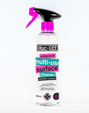 Muc-Off Antibakterieller Multi-Use Oberflächenreiniger