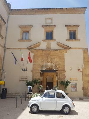 Lieu de la cérémonie civile El Convento del Carmine Marsala