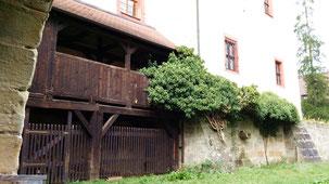 Burg Forchheim, Burggraben
