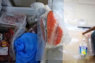 鮭切り落とし保存画像