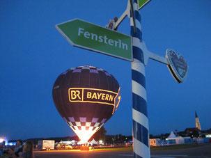der umgestaltete Flugplatz von Vilshofen