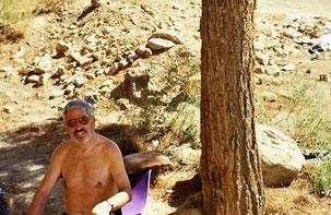 wie wertvoll Wasser ist erfuhr ich hier im Iran