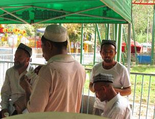 der ständige Vergnügungspark der Uiguren