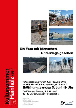 Plakat zur Fotoausstellung