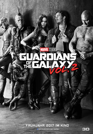 Guardians Of The Galaxy 2 - Marvel - Disney - kulturmaterial