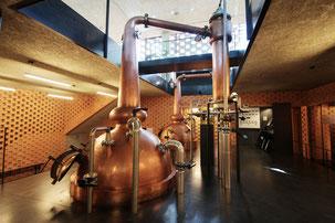 Whisky-Brennblasen bei PUNI / © PUNI distillery