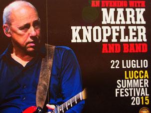 der weltberühmte Mark Knopfler kommt zum Festival nach Lucca