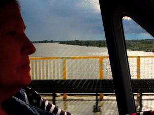 die Weichsel - mit 1048 km der längste Fluss Polens
