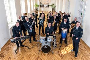 Big Band des Hessischen Landespolizeiorchesters (c) Foto: LPO
