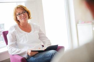 Petra Kölln in der Psychologische Einzelberatung und beim Coaching
