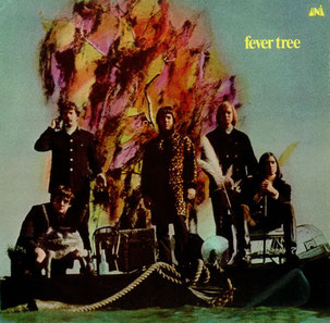 Portada original del primer álbum de Fever Tree (1968).