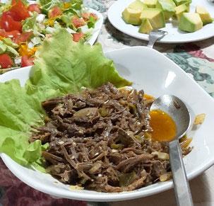 Cuban national dish vieja ropa