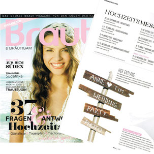 Braut & Bräutigam Magazin