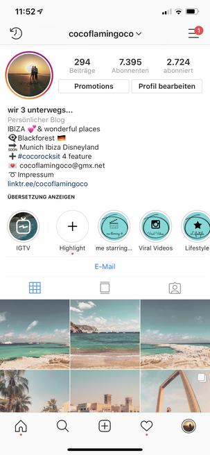 Instagram Feed Bild cocoflamingoco