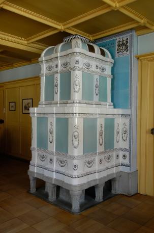 Historischer Ofen des Gasthof zum Hirschen in Oberstammheim