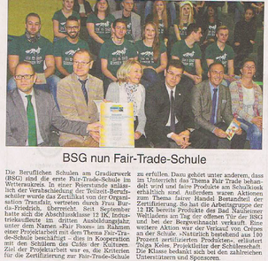 BSG Fairtrade Bad Nauheim