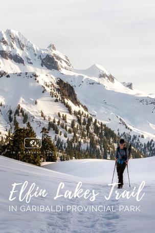 A story about my experience hiking to the Elfin Lakes Shelter in Garibaldi Provincial Park through the snow. Posts contains useful information about hiking the Elfin Lakes Trail in the winter and spring.