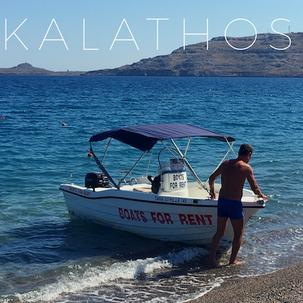 Kalathos Strand