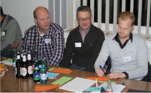 Die Vereinsvertreter des SV Cappeln e. V. in Aktion (Foto: Roths)