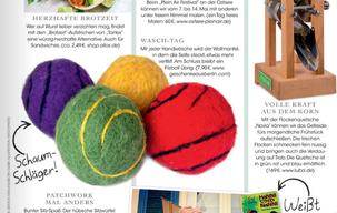 Naturseife im Wollmantel: handgemachte Filzseife