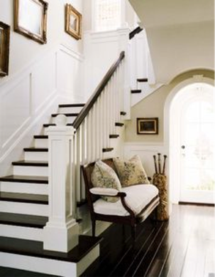 Am nager une entr e en beaut marie 39 s home - Home staging escalier ...