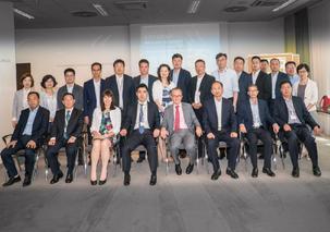 ACBA-Vorstände mit der Delegation aus China