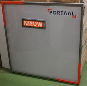 Portaal woningcorporatie - informatiebord LED