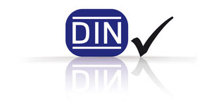Logo of the German standard DIN