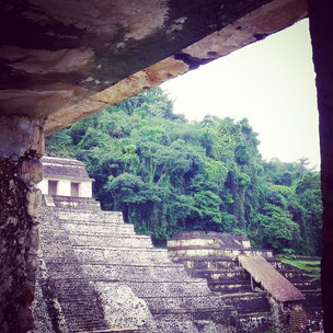 Ruins in Palenque
