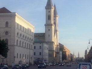 Prachtstraße erbaut von König Ludwig I
